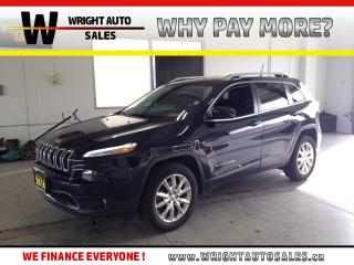 Used 2016 Jeep Cherokee Limited|NAVIGATION|LEATHER|58,269 KMS for sale in Cambridge, ON