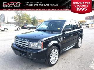 Used 2009 Land Rover Range Rover Sport Supercharged/Navigation/Leather/Sunroof for sale in North York, ON