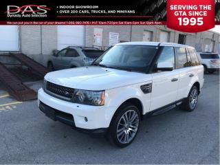 Used 2010 Land Rover Range Rover Sport HSE LUXURY NAVIGATION/REAR CAMERA for sale in North York, ON