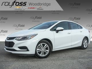 Used 2016 Chevrolet Cruze LT BOSE, BACKUP CAM, SUNROOF for sale in Woodbridge, ON