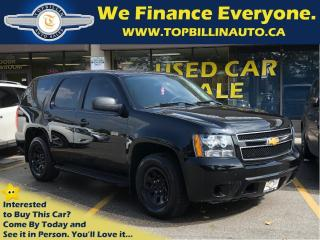 Used 2014 Chevrolet Tahoe Police, Certified including Safety for sale in Vaughan, ON