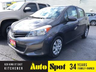 Used 2014 Toyota Yaris LE/LOW, LOW KMS/PRICED-QUICK SALE! for sale in Kitchener, ON