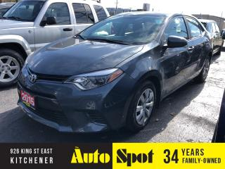 Used 2015 Toyota Corolla LE/LOW, LOW KMS!/PRICED-QUICK SALE! for sale in Kitchener, ON