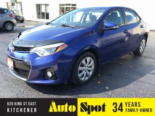 Used 2014 Toyota Corolla S-MODEL/LOW, LOW KMS/PRICED-QUICK SALE! for sale in Kitchener, ON