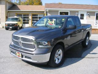 Used 2014 RAM 1500 SPORT HOOD*20' WHEELS*Quad Cab 4x4 Hemi for sale in Smiths Falls, ON