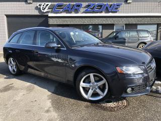 Used 2012 Audi A4 AWD 2.0T Premium Wagon, Pano, NO accidents for sale in Calgary, AB
