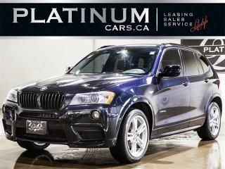Used 2013 BMW X3 xDrive35i, SPORT, NAVI, PANO, CAM, Heated Lthr for sale in Toronto, ON