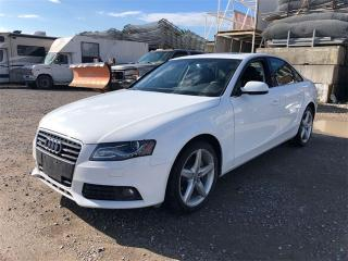 Used 2012 Audi A4 2.0T Quattro Premium Plus, NAVI, CAM, Quattro for sale in Toronto, ON