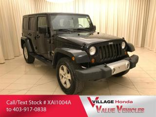 Used 2008 Jeep Wrangler Unlimited Sahara for sale in Calgary, AB