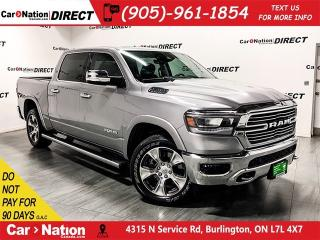 Used 2019 RAM 1500 Laramie| PANO ROOF| 12 TOUCH SCREEN| NAVI| for sale in Burlington, ON