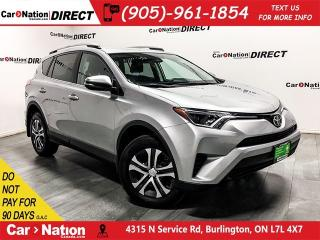 Used 2017 Toyota RAV4 LE  AWD  BACK UP CAMERA  TOUCH SCREEN  for sale in Burlington, ON