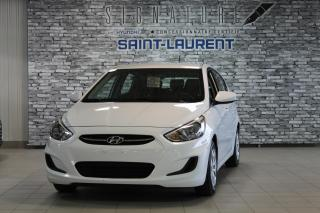 Used 2017 Hyundai Accent GL for sale in St-Laurent, QC