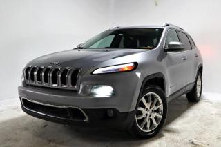 Used 2015 Jeep Cherokee LIMITED 4X4 *CUIR*TOIT*GPS*ANGLE MORT* for sale in Brossard, QC