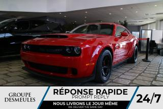 Used 2018 Dodge Challenger SRT DEMON * 840 HP * NAV * COULEUR RARE for sale in Laval, QC