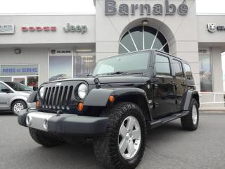 Used 2008 Jeep Wrangler 4 RM 4 portes Unlimited Sahara for sale in Napierville, QC