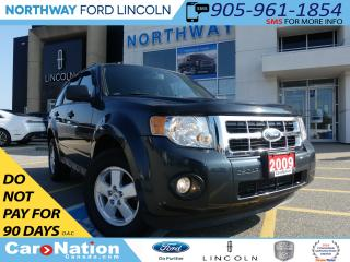 Used 2009 Ford Escape XLT | V-6 | 3.0L | HEATED LEATHER SEATS | for sale in Brantford, ON