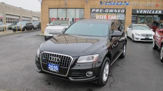 Used 2015 Audi Q5 2.0T Komfort/POWER LIFT GATE/QUATTRO for sale in North York, ON