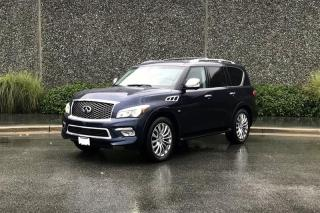 Used 2015 Infiniti QX80 7-Passenger for sale in Vancouver, BC