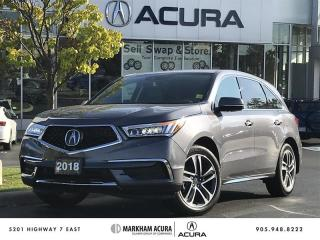 Used 2018 Acura MDX Navi - Apple CarPlay / Android *AUTO*   Power Liftgate for sale in Markham, ON