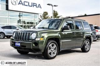 Used 2008 Jeep Patriot Sport 4D Utility 4WD for sale in Langley, BC
