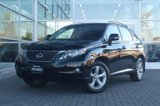 Used 2012 Lexus RX 350 6A Low Kms! Back-Up Camera! for sale in Vancouver, BC