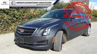 Used 2016 Cadillac ATS Sedan AWD 2.0L Turbo - Luxury No Damage Record, Low Km, Local. for sale in Vancouver, BC