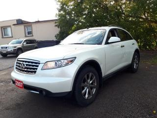 Used 2007 Infiniti FX35 AS IS,SHIPPER/MECHANIX SPECIAL for sale in Oshawa, ON