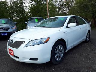Used 2007 Toyota Camry HYBRID Certified,Factory Nav. for sale in Oshawa, ON