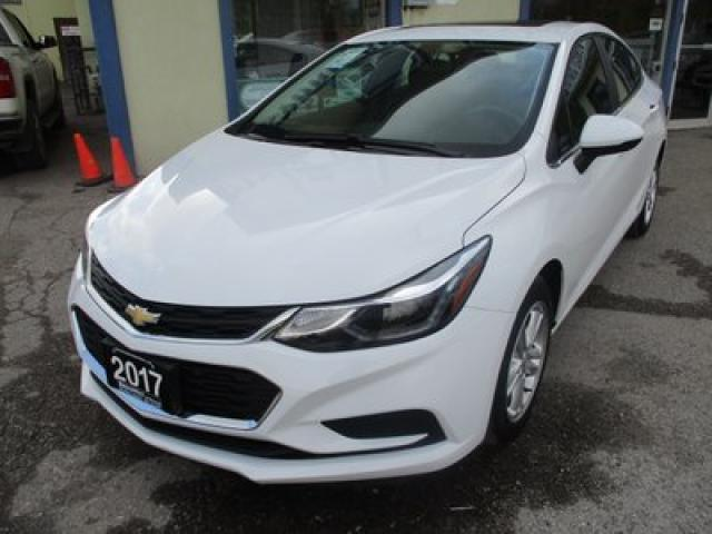 2017 Chevrolet Cruze 'LIKE NEW' LT EDITION 5 PASSENGER 1.4L - TURBO.. FACTORY WARRANTY.. HEATED SEATS.. BACK-UP CAMERA.. BLUETOOTH.. SUNROOF.. WI-FI HOTSPOT..