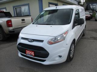 Used 2016 Ford Transit Connect CARGO MOVING XLT MODEL 2 PASSENGER 2.4L - DOHC.. SHELVING.. DIVIDER.. SLIDING DOOR.. BACK-UP CAMERA.. BLUETOOTH SYSTEM.. for sale in Bradford, ON