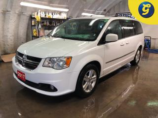 Used 2017 Dodge Grand Caravan Crew Plus * Stow and go * Leather * U connect touchscreen * Phone connect * Reverse camera * Voice recognition * Power sliding doors * Power liftgate for sale in Cambridge, ON