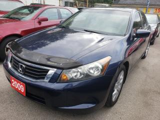 Used 2009 Honda Accord EX-L/Leather/Sunroof/Alloys for sale in Scarborough, ON