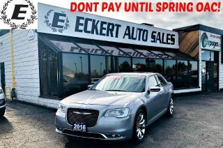 Used 2016 Chrysler 300 C WITH NAV / LEATHER / SUNROOF for sale in Barrie, ON