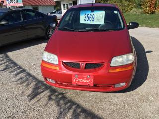 Used 2007 Pontiac Wave SE for sale in Oro Medonte, ON