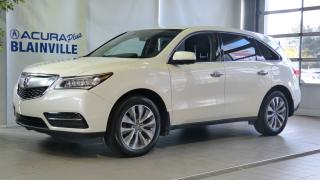 Used 2016 Acura MDX NAVI ** GPS ** ACHAT 72 MOIS 3.9% *** for sale in Blainville, QC