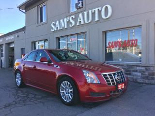 Used 2012 Cadillac CTS CTS-4 for sale in Hamilton, ON