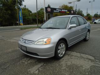 Used 2002 Honda Civic LX-G SE AUTO for sale in King City, ON