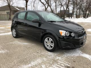 Used 2012 Chevrolet Sonic LS Alloys/Low KM/Great on Gas/Local Trade for sale in Winnipeg, MB