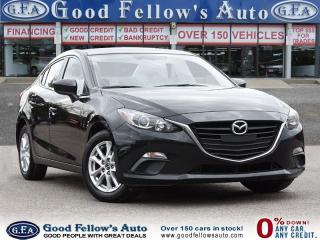 Used 2015 Mazda MAZDA3 GS MODEL, SKYACTIV, REAR VIEW CAMERA, HEATED SEATS for sale in Toronto, ON