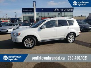 Used 2010 Mitsubishi Outlander GT/SUNROOF/LEATHER/HEATED SEATS for sale in Edmonton, AB
