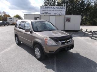Used 2003 Honda CR-V EXL AWD for sale in Elmvale, ON