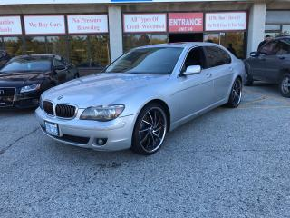 Used 2006 BMW 7 Series 750Li for sale in North York, ON