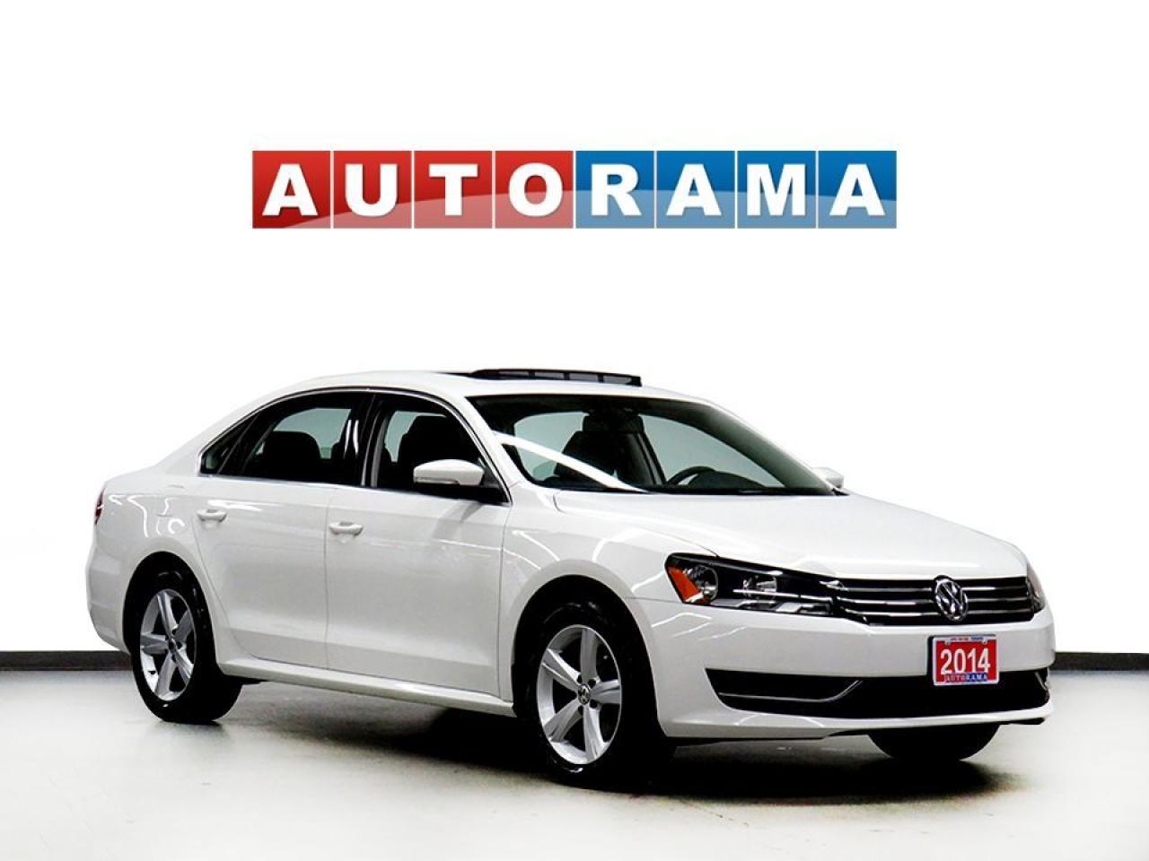 2014 Volkswagen Passat HIGHLINE NAVIGATION LEATHER SUNROOF