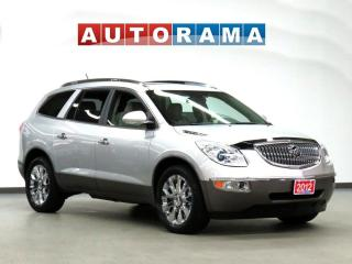Used 2012 Buick Enclave NAVI DVD 7 PASS LEATHER PAN SUNROOF 4WD BACKUP CAM for sale in Toronto, ON