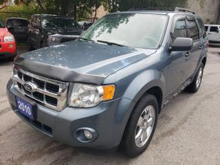Used 2010 Ford Escape XLT/4WD/BLUETOOTH/USB/AUX INPUT/CHROME WHEELS/V6 for sale in Scarborough, ON