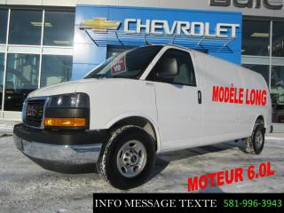 Used 2018 GMC Savana CARGO Longue, Moteur 6.0l for sale in Ste-Marie, QC