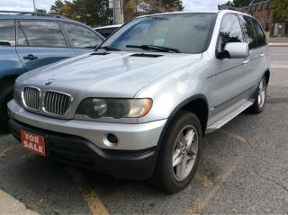 Used 2001 BMW X5 4.4i/AWD/LEATHER/SUNROOF/ALLOY WHEELS/NICE!! for sale in Scarborough, ON