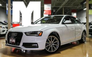 Used 2015 Audi A4 Progressiv Plus - SLINE|NAVI|PUSHSTART|SUNROOF for sale in North York, ON