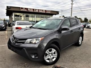 Used 2013 Toyota RAV4 REARVIEW|ALLOYS|AWD|NO ACCIDENTS for sale in Mississauga, ON