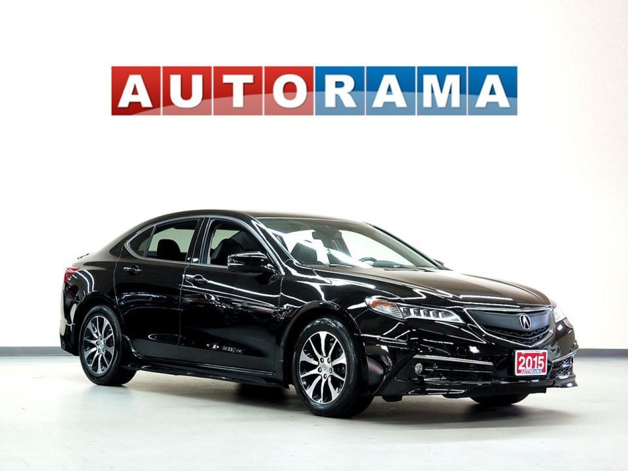 2015 Acura TLX NAVIGATION LEATHER SUNROOF BACKUP CAM